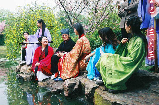 Recreation festival Chinese women, 21 April 2015